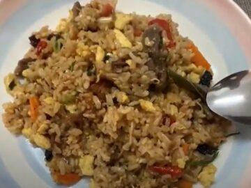 Dapor Terbalik - Nasi Goreng Daging Harimau Menangis